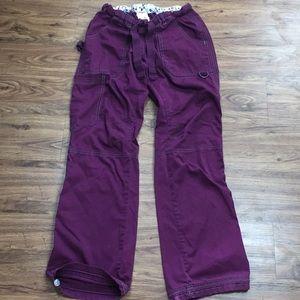 Koi Scrub Pants Plum Purple Extra Small